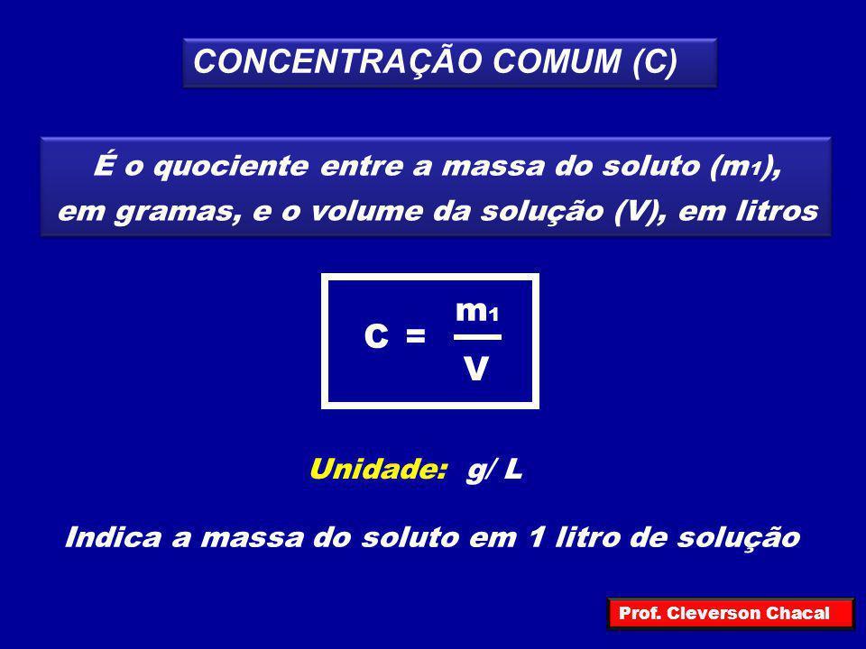 CONCENTRAÇÃO COMUM (C)