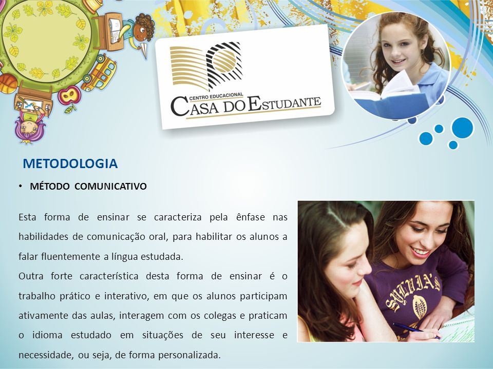 METODOLOGIA MÉTODO COMUNICATIVO