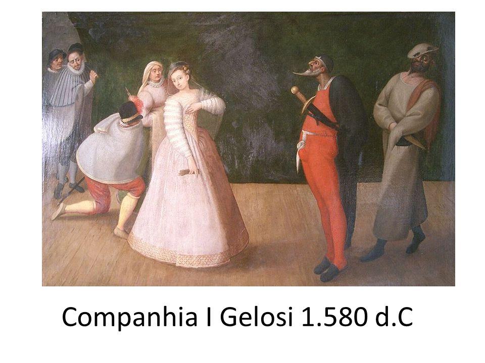 Companhia I Gelosi 1.580 d.C