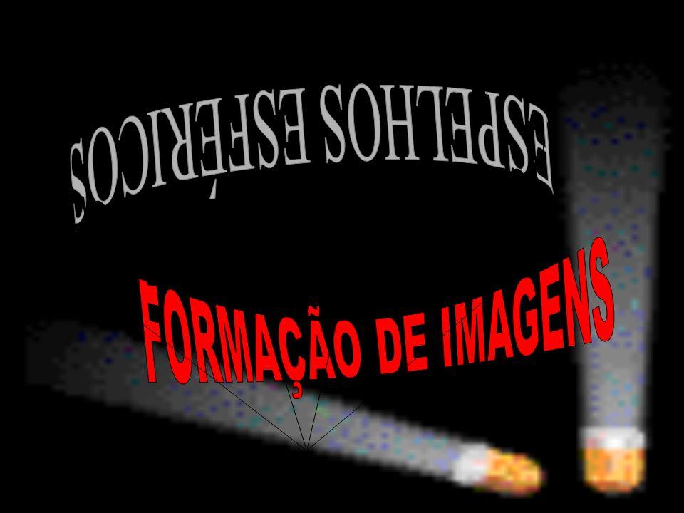 ESPELHOS ESFÉRICOS FORMAÇÃO DE IMAGENS