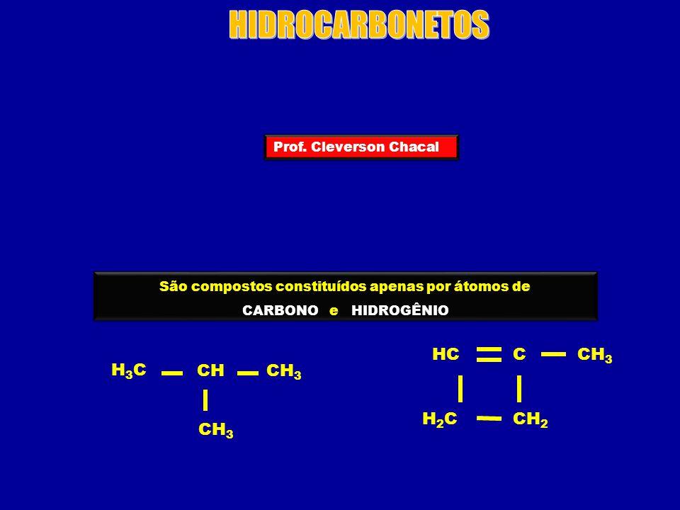 São compostos constituídos apenas por átomos de