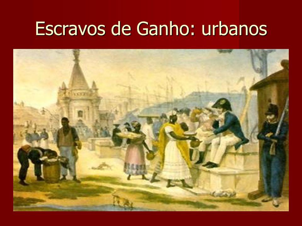 Escravos de Ganho: urbanos