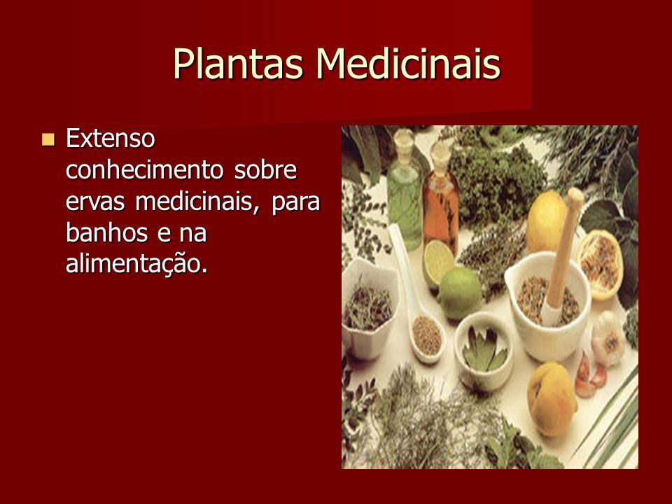 Plantas Medicinais Extenso conhecimento sobre ervas medicinais, para banhos e na alimentação.