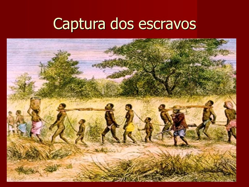 Captura dos escravos