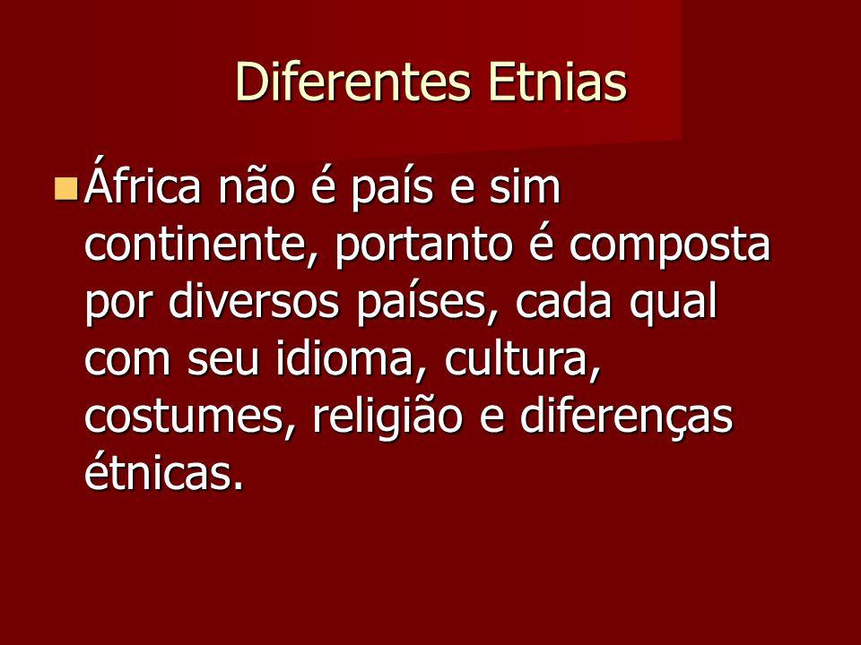 Diferentes Etnias