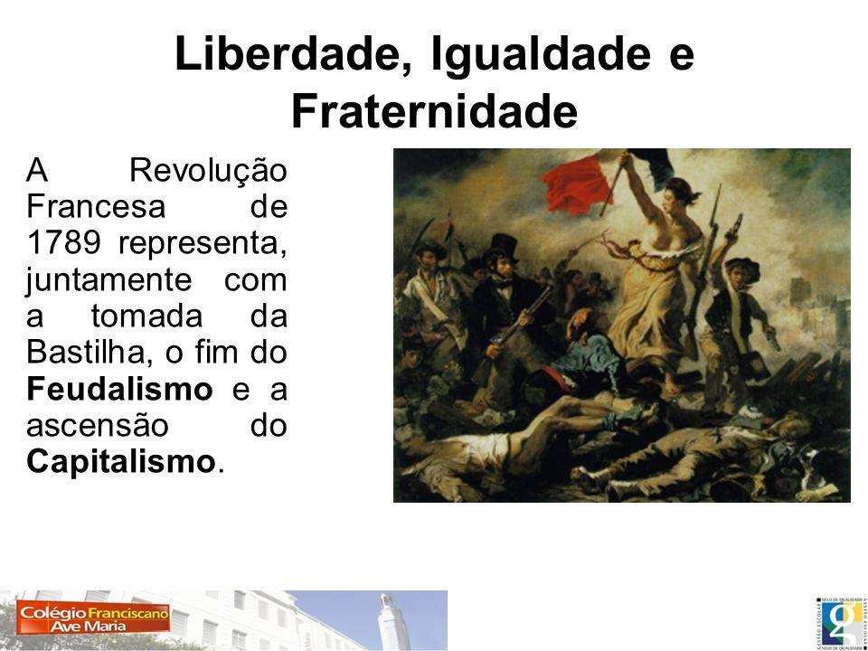 Liberdade, Igualdade e Fraternidade