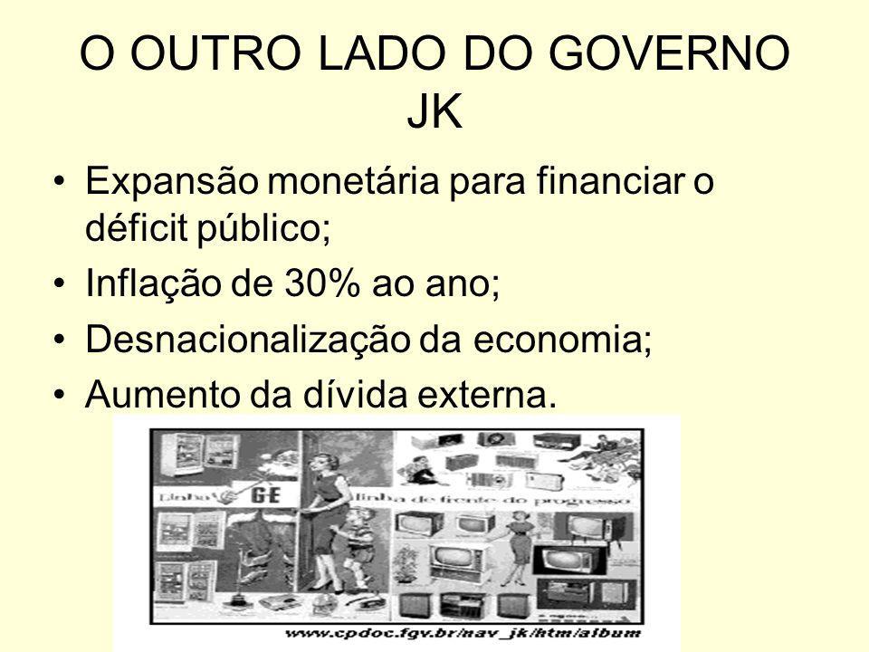 O OUTRO LADO DO GOVERNO JK
