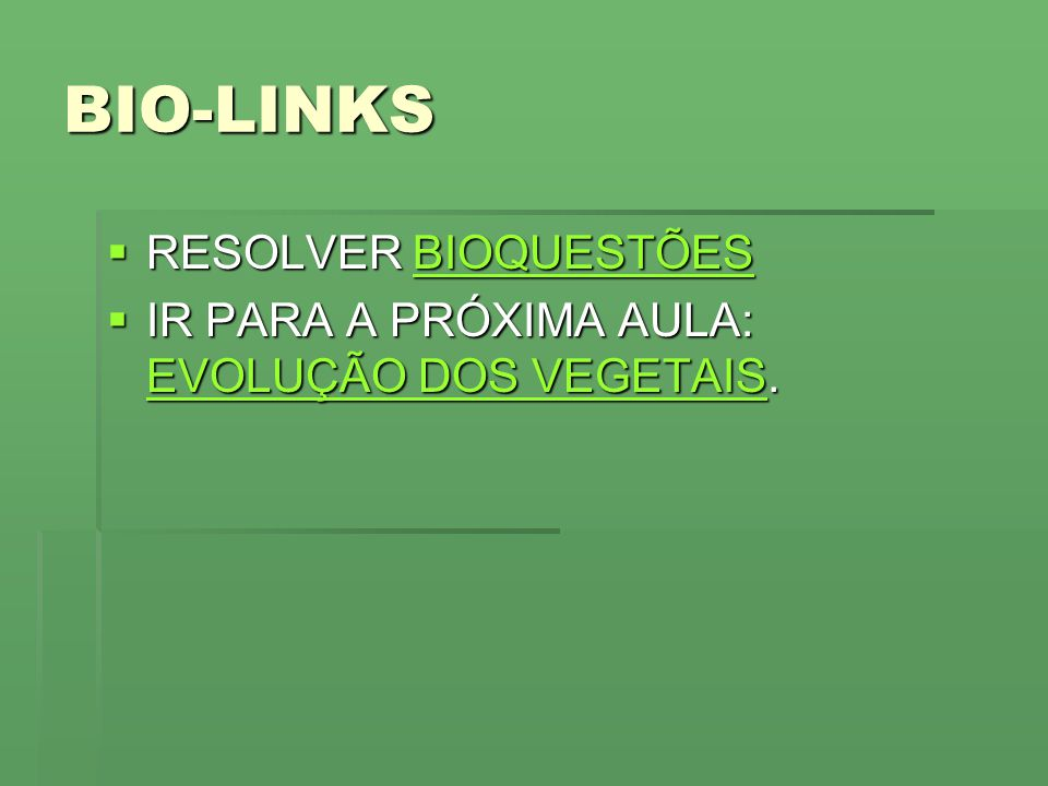 BIO-LINKS RESOLVER BIOQUESTÕES