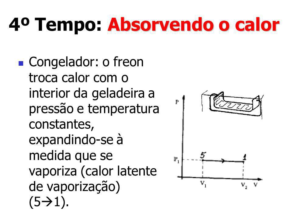 4º Tempo: Absorvendo o calor