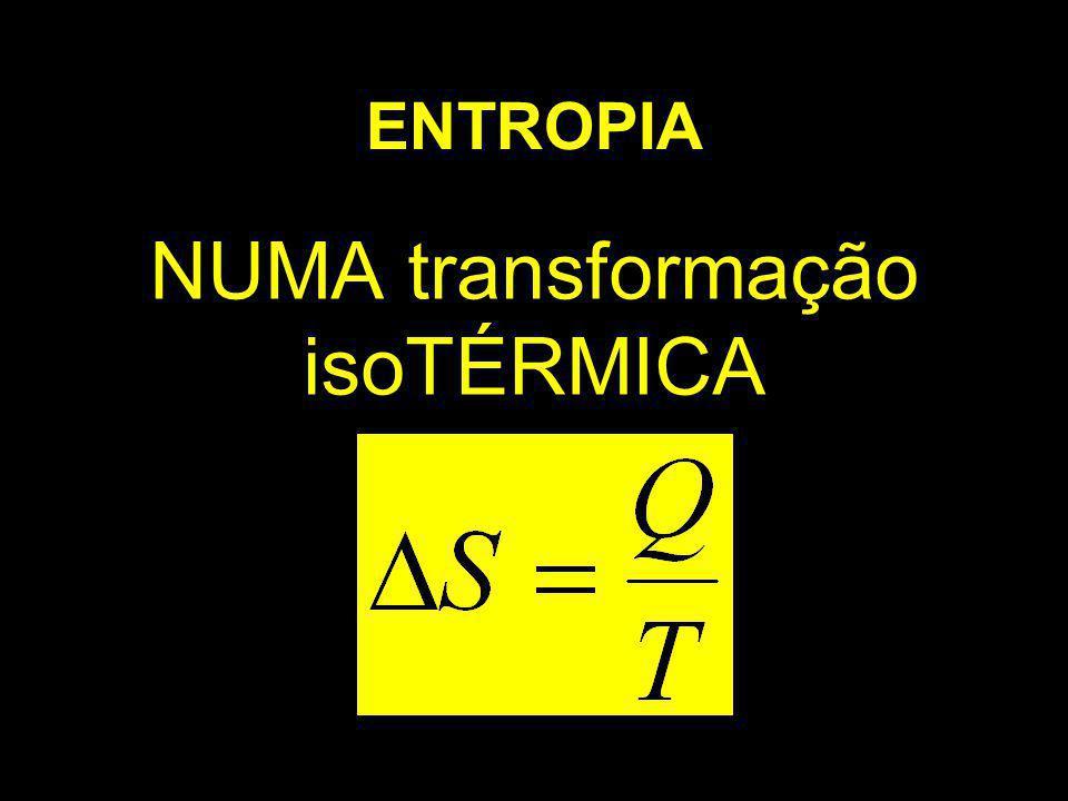 NUMA transformação isoTÉRMICA