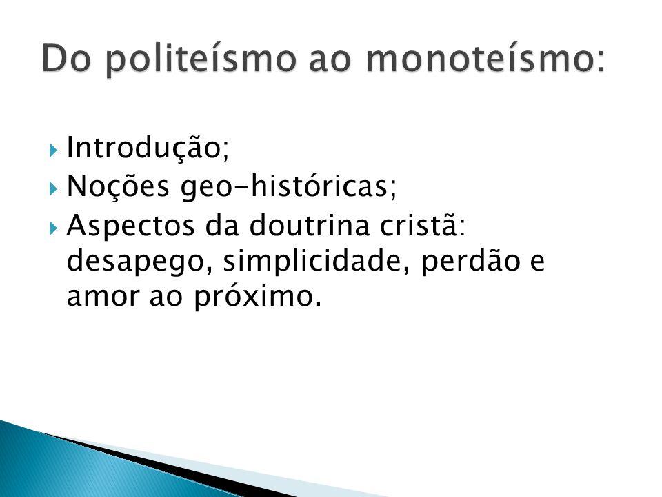 Do politeísmo ao monoteísmo: