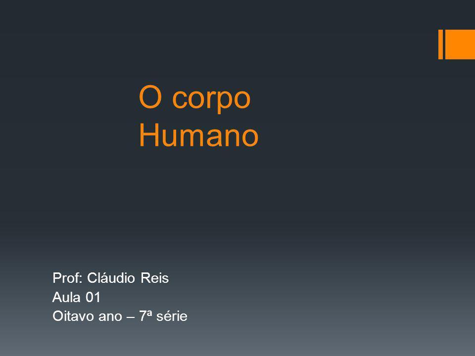 Prof: Cláudio Reis Aula 01 Oitavo ano – 7ª série