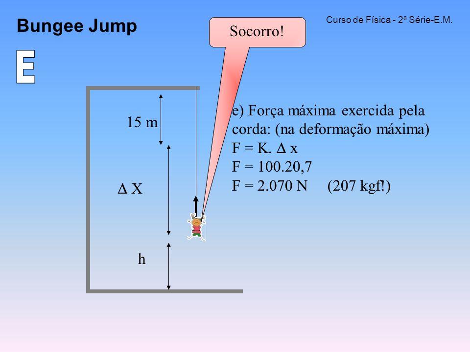 Bungee Jump Curso de Física - 2ª Série-E.M. Socorro! E.