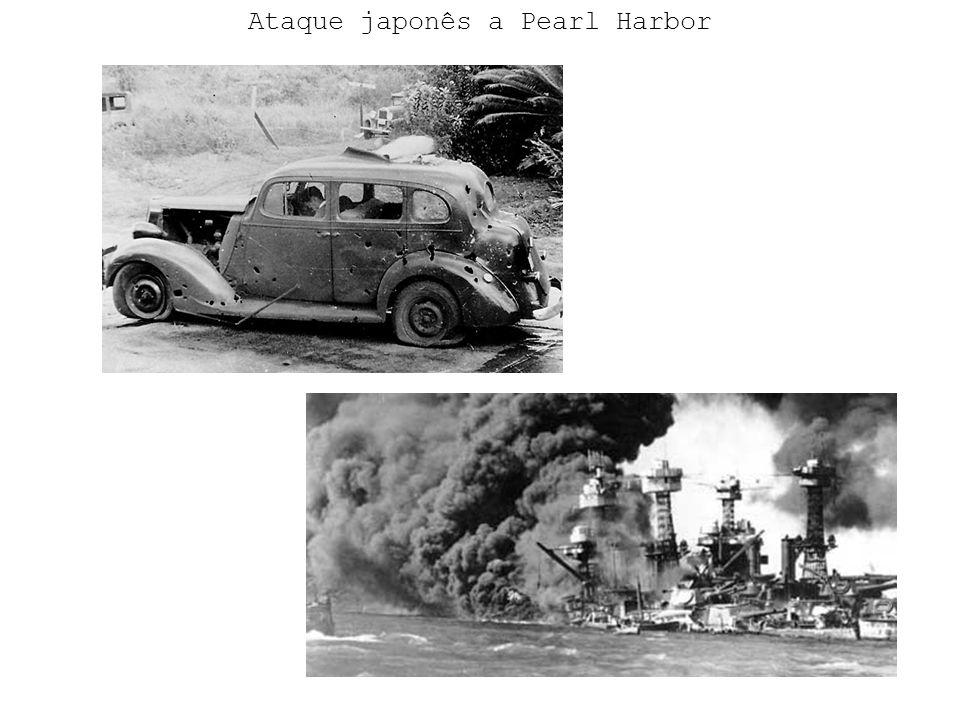 Ataque japonês a Pearl Harbor