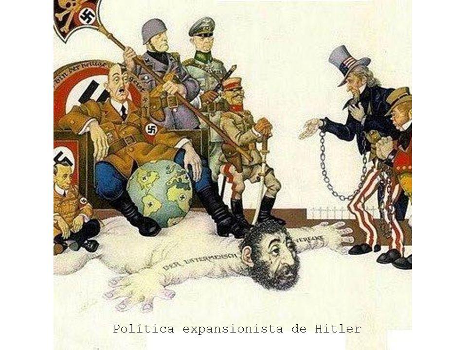 Política expansionista de Hitler