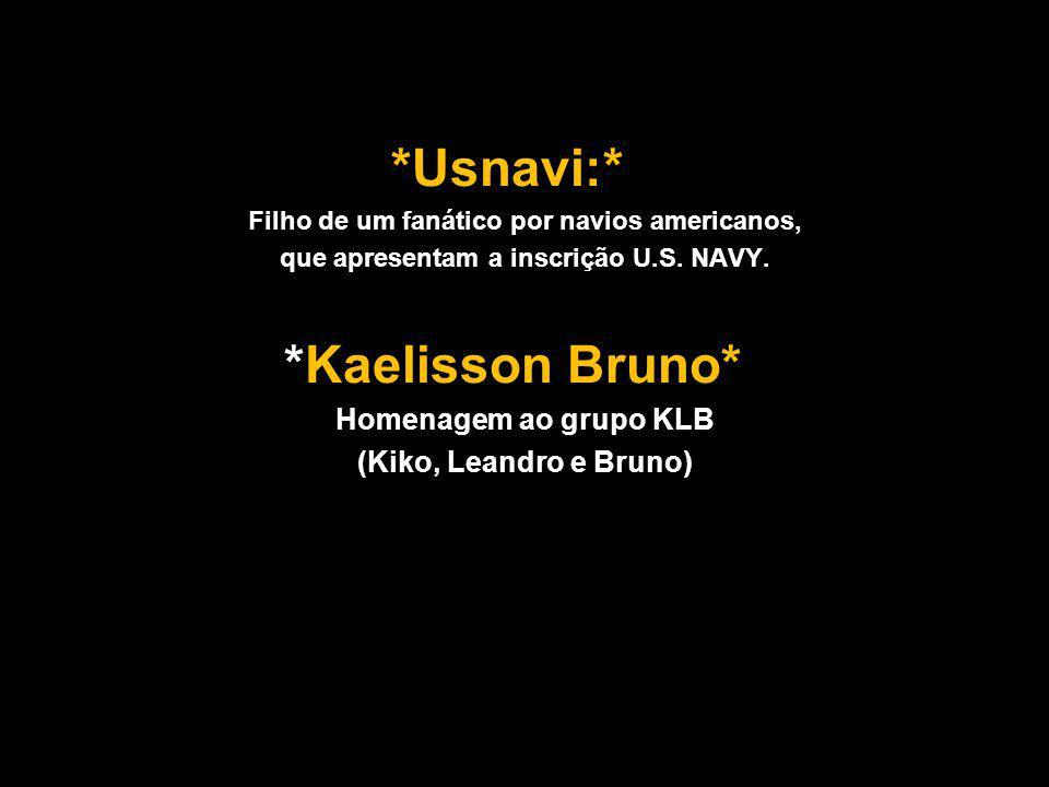 que apresentam a inscrição U.S. NAVY.