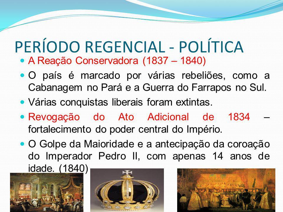 PERÍODO REGENCIAL - POLÍTICA