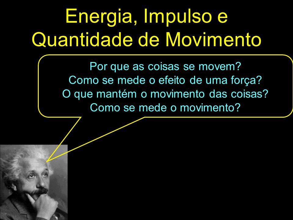 Energia, Impulso e Quantidade de Movimento
