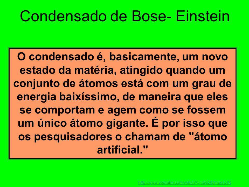 Condensado de Bose- Einstein