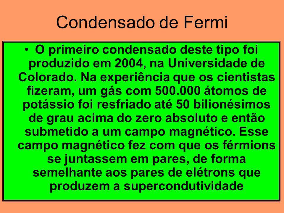 Condensado de Fermi