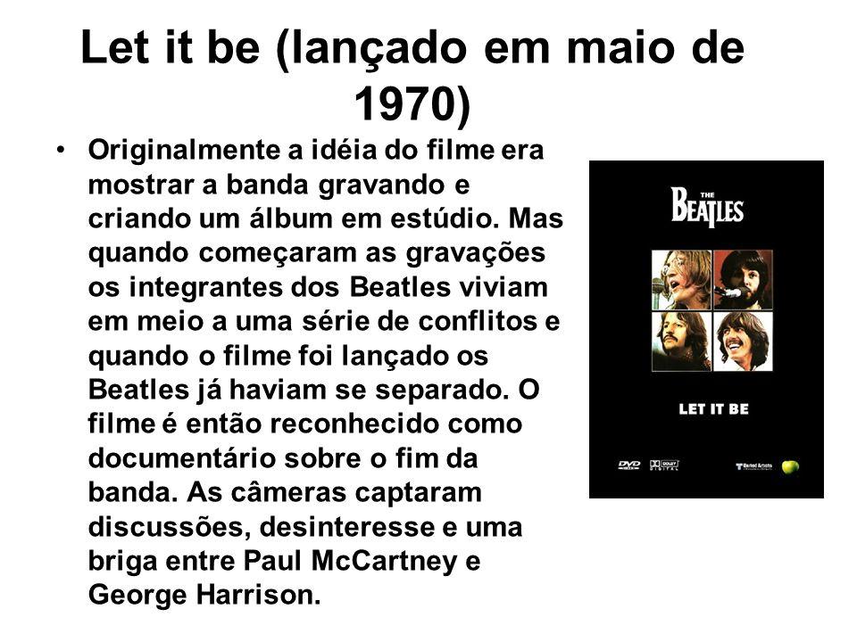Let it be (lançado em maio de 1970)