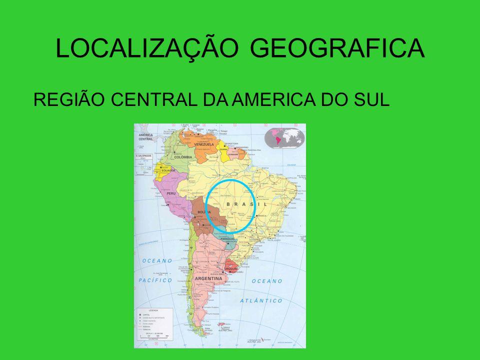 LOCALIZAÇÃO GEOGRAFICA
