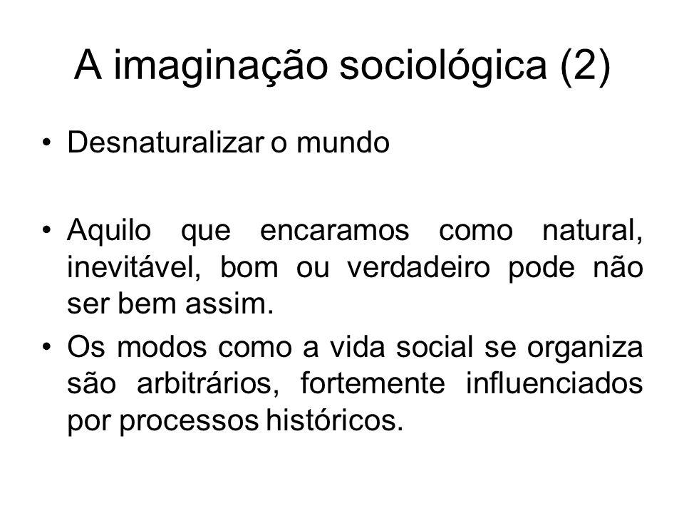 A imaginação sociológica (2)