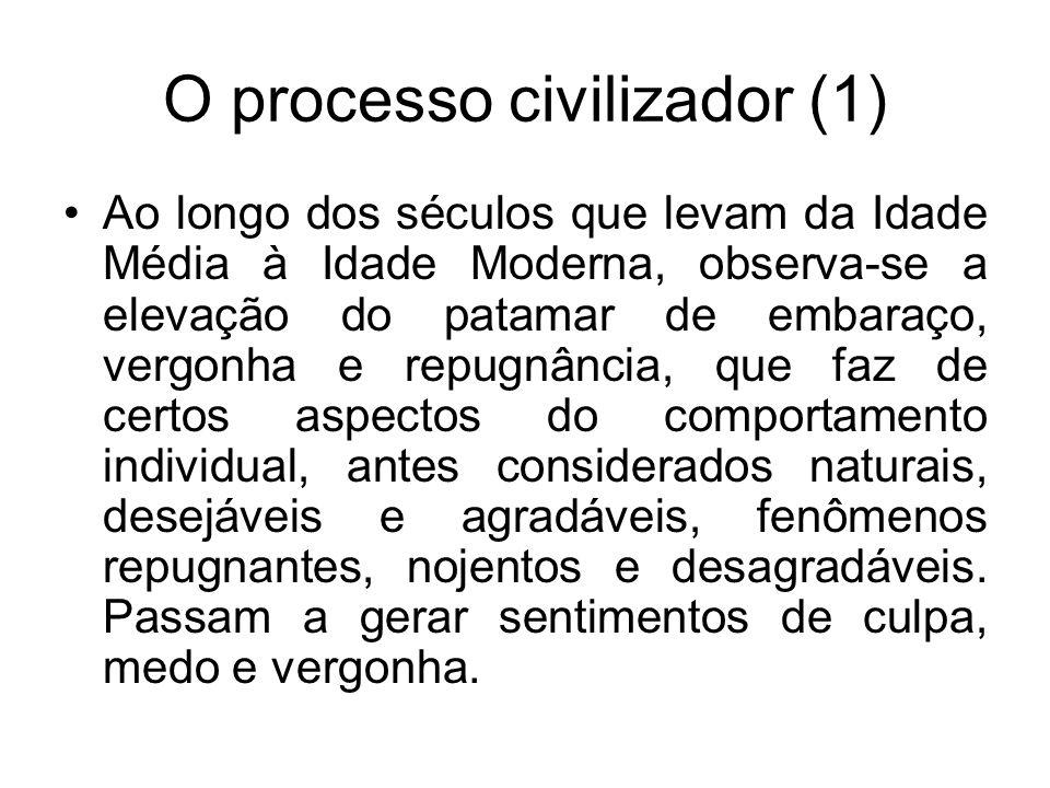 O processo civilizador (1)