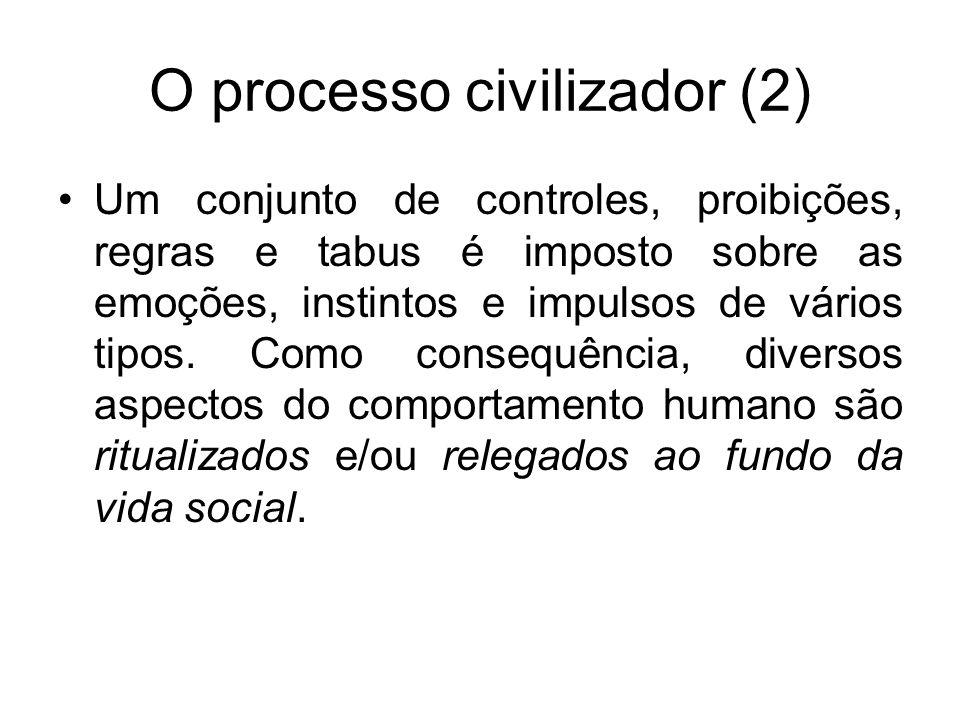 O processo civilizador (2)