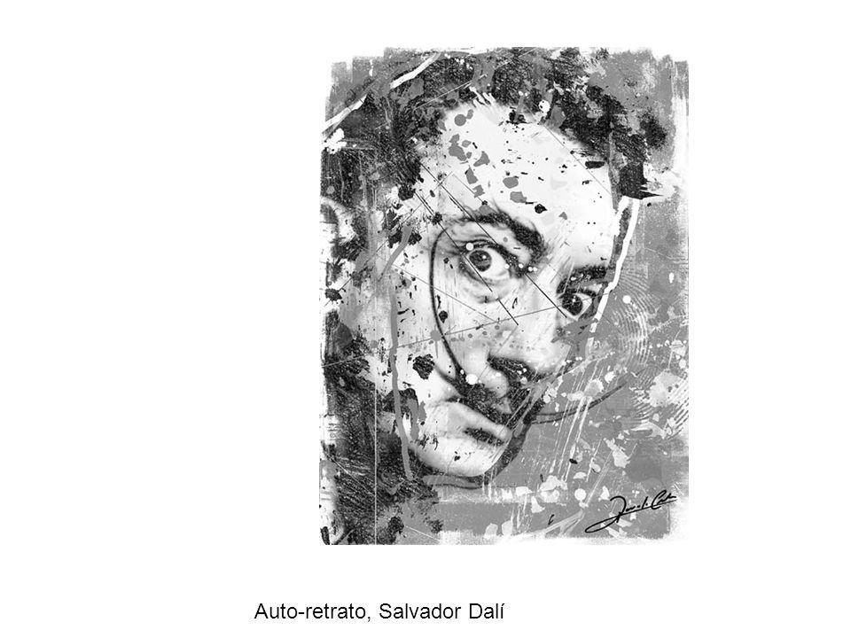 Auto-retrato, Salvador Dalí