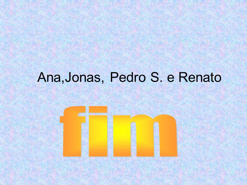 Ana,Jonas, Pedro S. e Renato