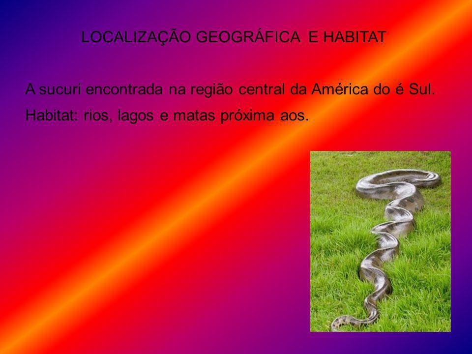 LOCALIZAÇÃO GEOGRÁFICA E HABITAT