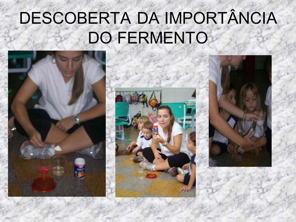DESCOBERTA DA IMPORTÂNCIA DO FERMENTO