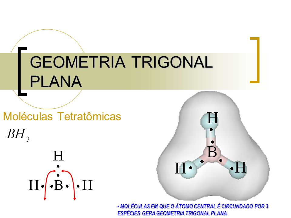 GEOMETRIA TRIGONAL PLANA