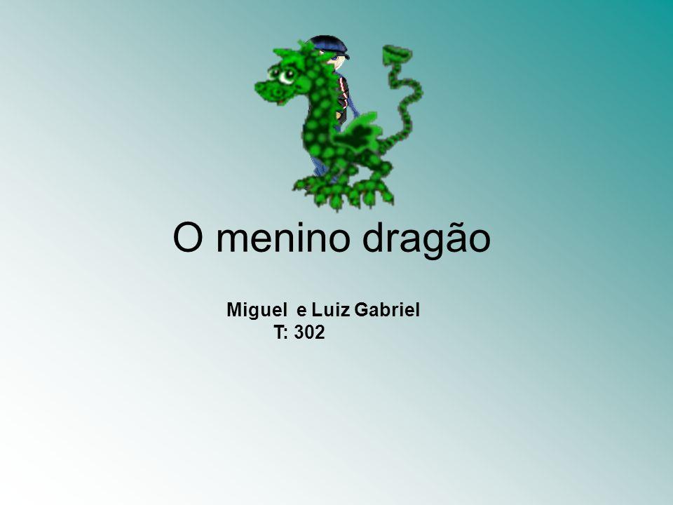 O menino dragão Miguel e Luiz Gabriel T: 302