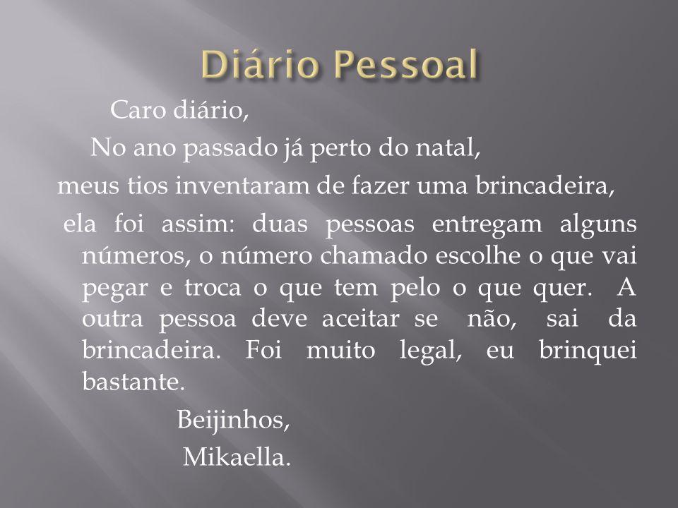 Diário Pessoal