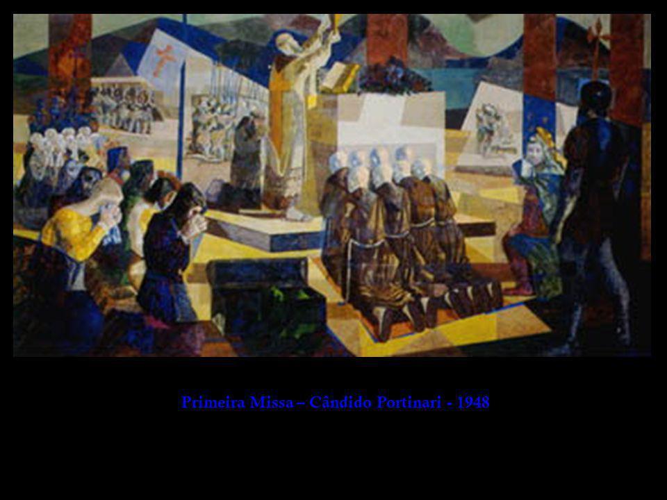 Primeira Missa – Cândido Portinari - 1948