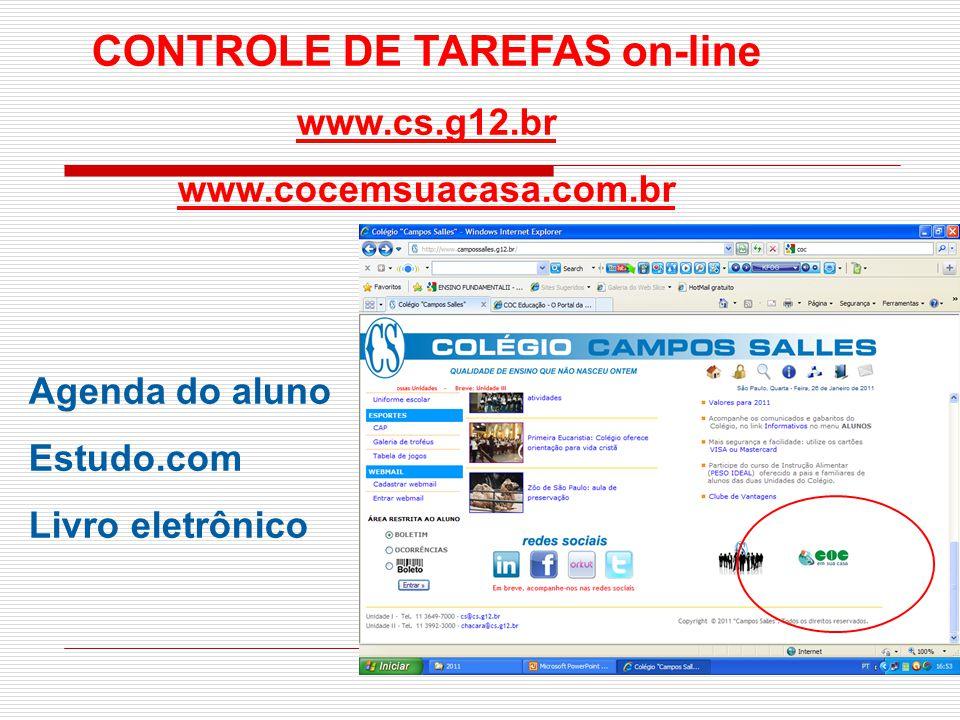CONTROLE DE TAREFAS on-line