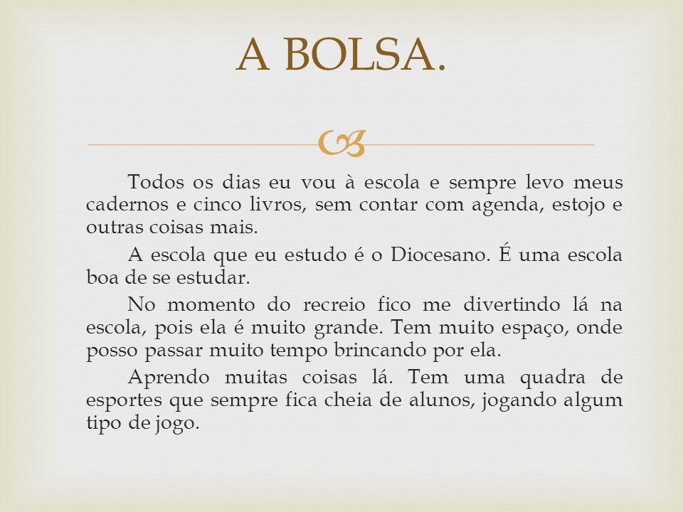 A BOLSA.