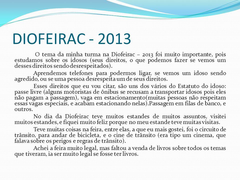 DIOFEIRAC - 2013