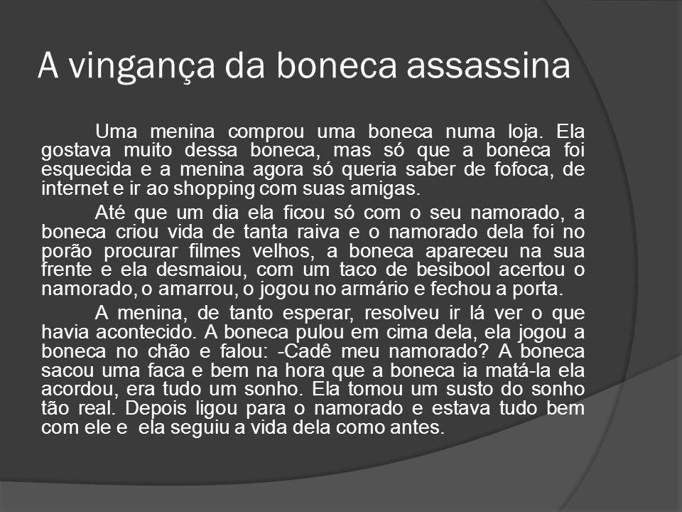 A vingança da boneca assassina