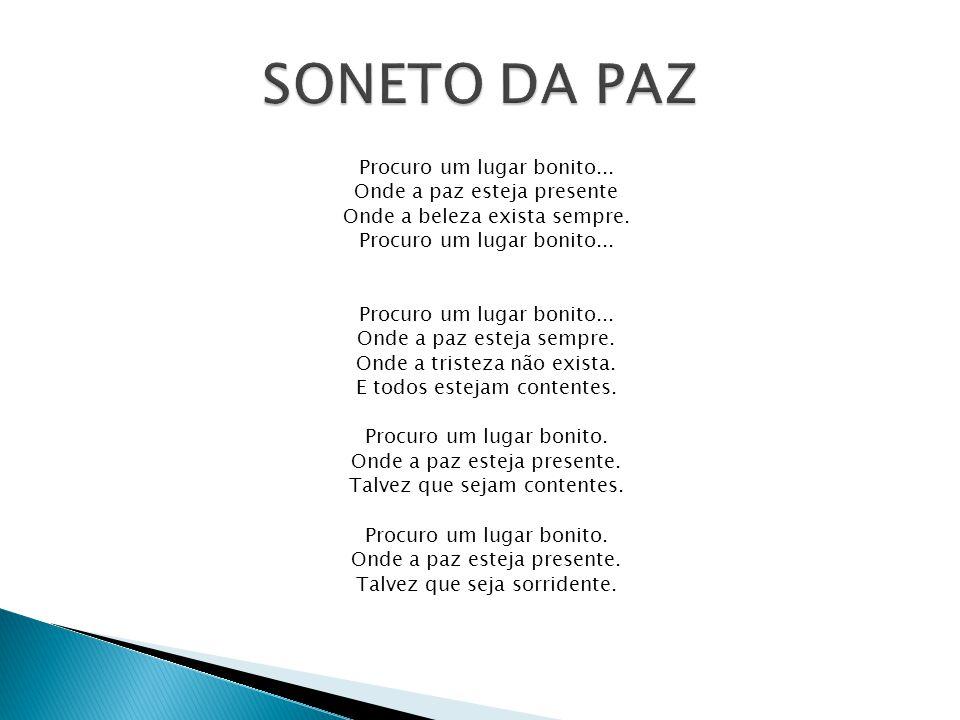 SONETO DA PAZ