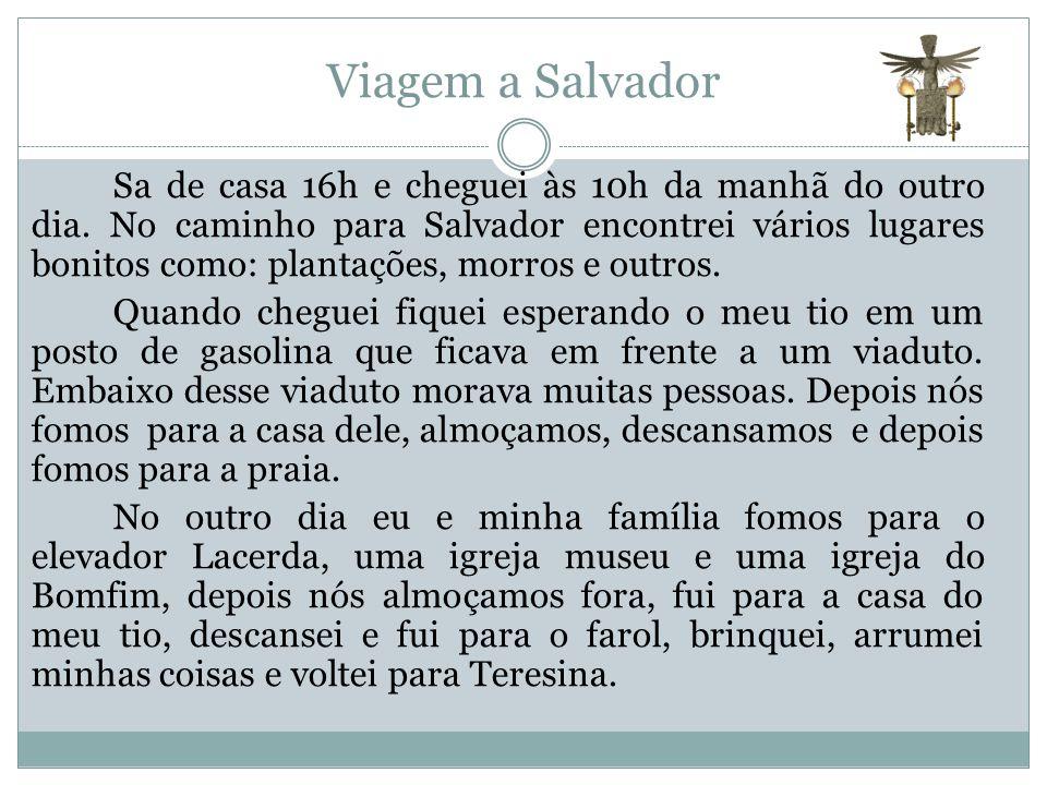 Viagem a Salvador