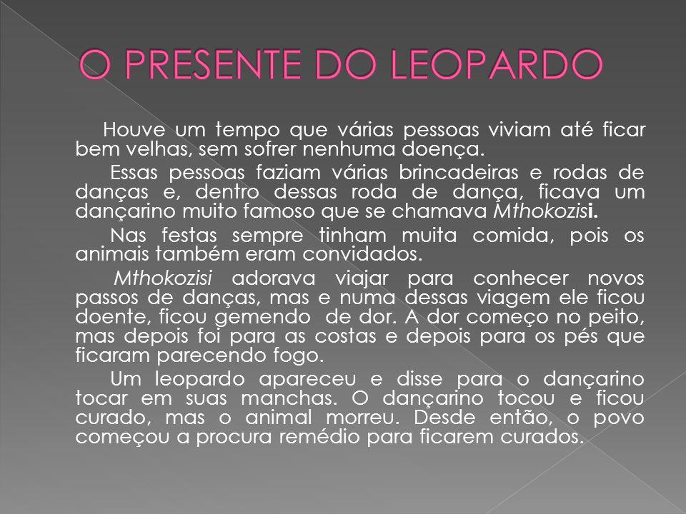 O PRESENTE DO LEOPARDO