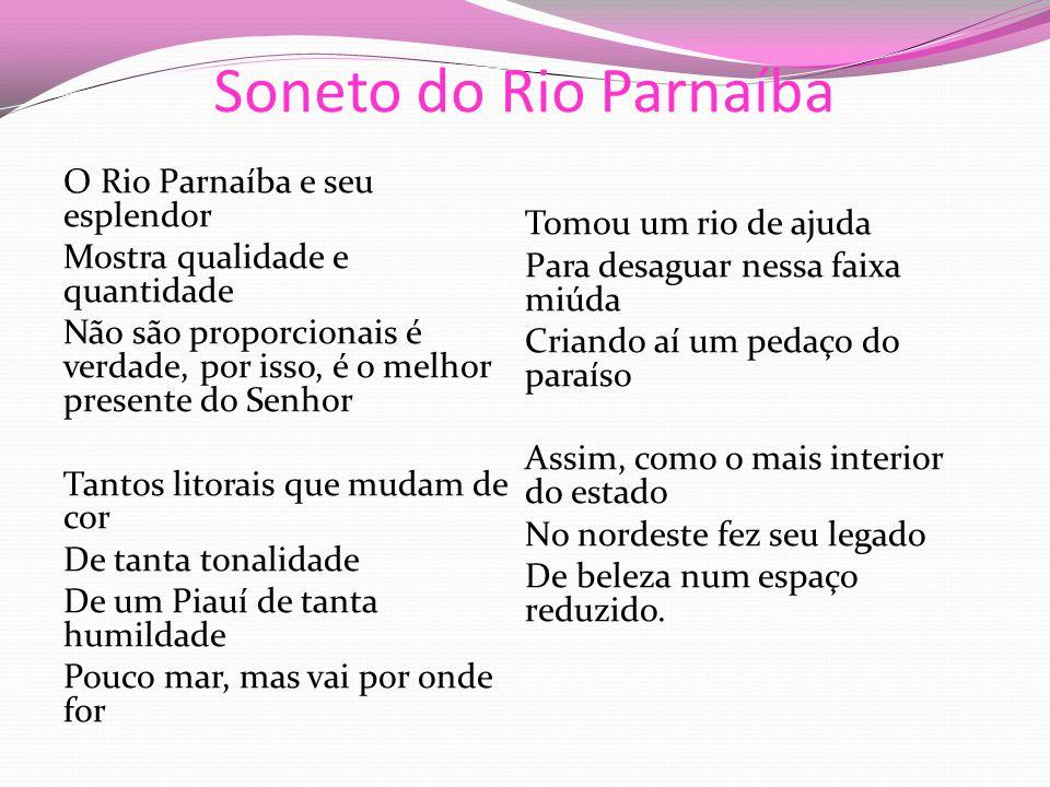 Soneto do Rio Parnaíba