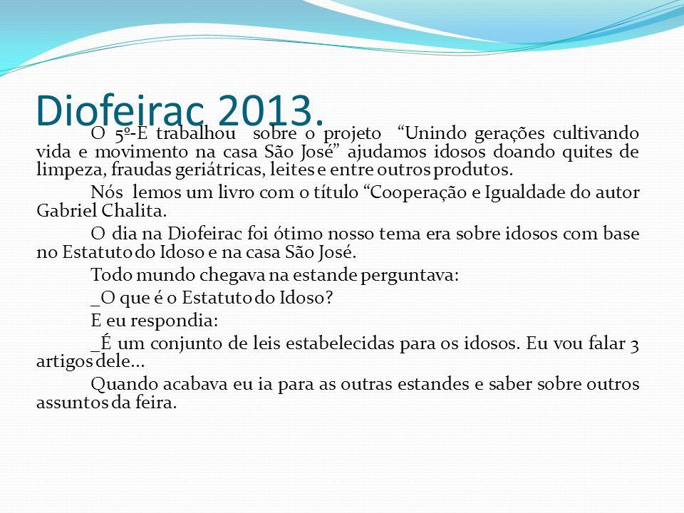 Diofeirac 2013.