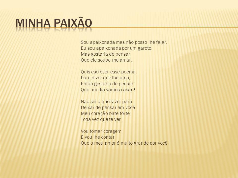 MINHA PAIXÃO