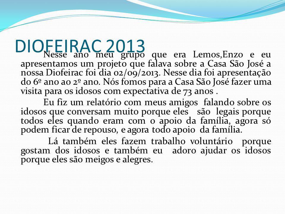 DIOFEIRAC 2013