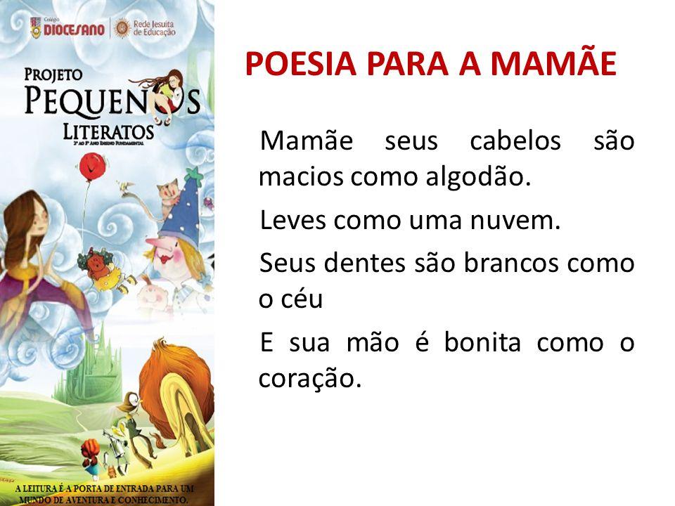 POESIA PARA A MAMÃE