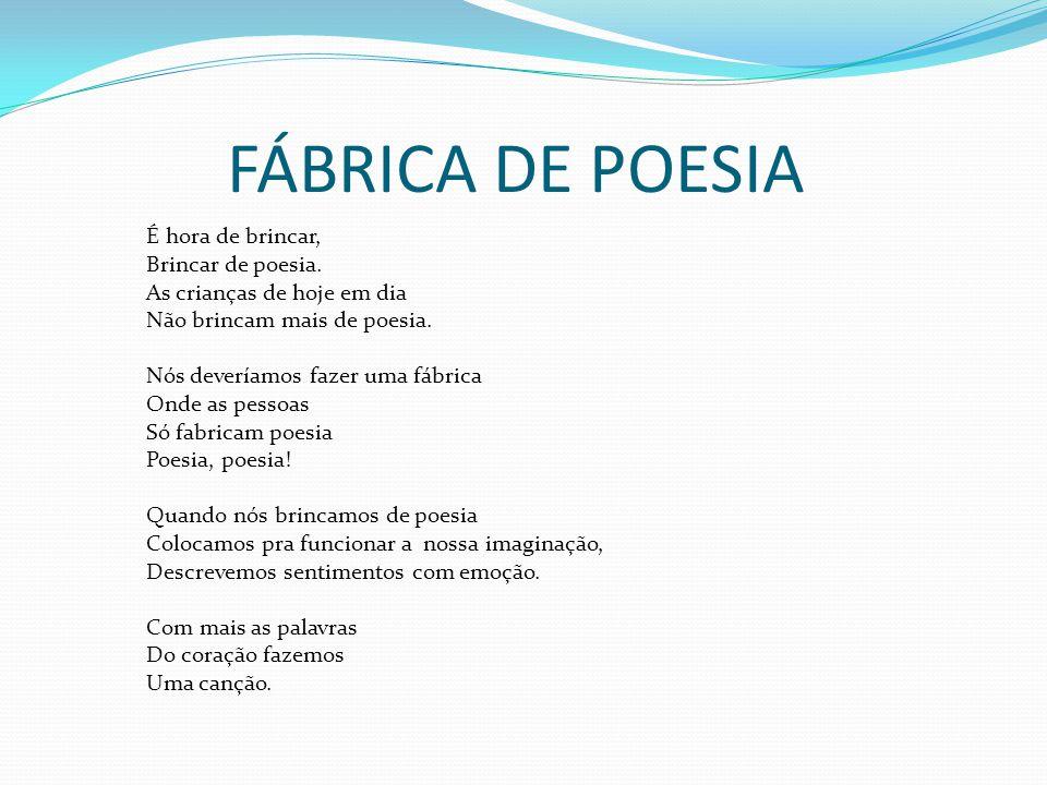 FÁBRICA DE POESIA